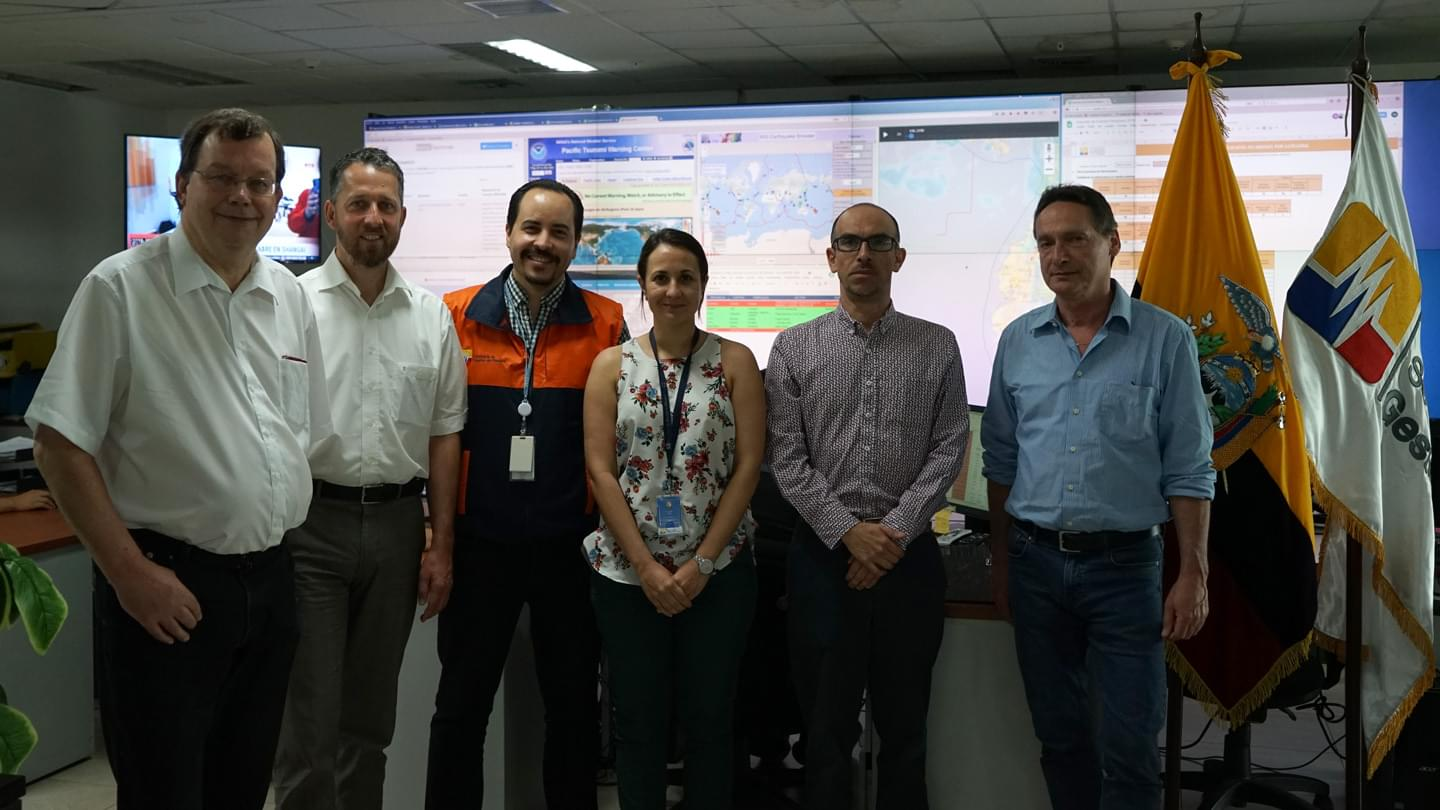 Meeting @ SGR, 23 April 2018, Guayaquil/Ecuador