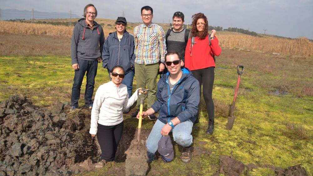 Excursion in the region of Quintero (Chile) to study tsunami sediments